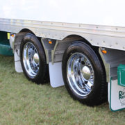 Superchrome trailer wheels
