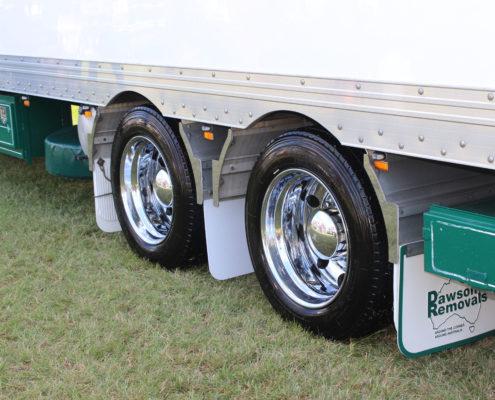 Superchrome trailer wheels