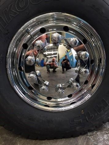 Polished Superchrome Wheel