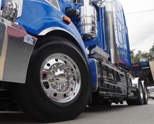 Truck presentation